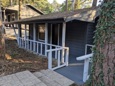 Cabin at Loblolly Pines entrance image